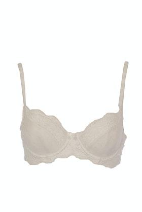Bendon Body Lace Contour Bra - White