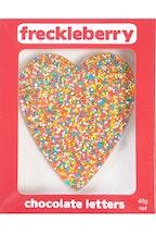Freckleberry Choc Freckle Heart