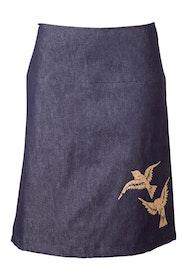 2 Birds Denim Skirt