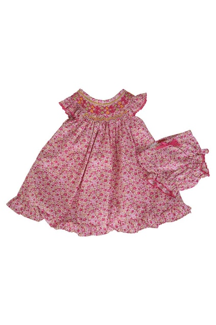 7fb91ae8f5bf Rock Your Baby Liberty Hand Smocked Dress W Bloomer - Kids at ...