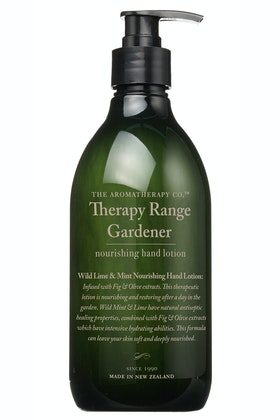 The Aromatherapy Co Gardener Nourishing Hand Lotion Wild Lime & Mint
