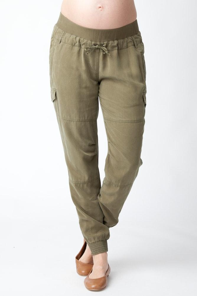 Ripe maternity cargo pants