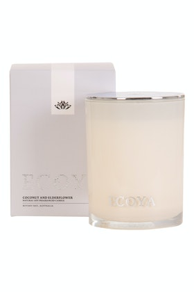 Ecoya Madison Jar Coconut And Elderflower Candle