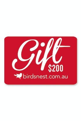 Birdsnest $200 Gift Voucher