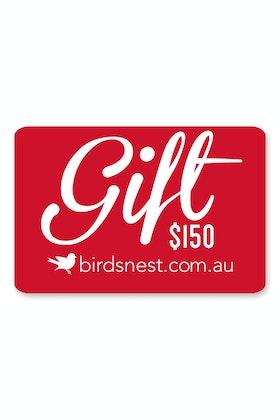 Birdsnest $150 Gift Voucher
