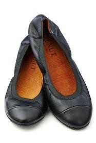 Ava Leather Flat