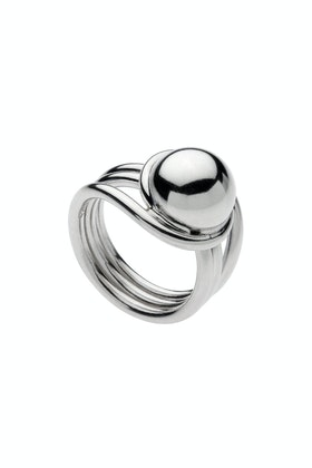 Najo Sterling Silver Mysterious Universe Ring