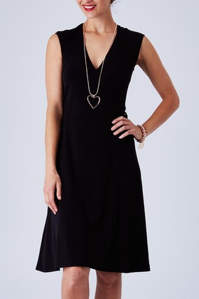 Rebecca Ruby Essential Little Black Dress