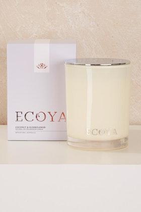 Ecoya Madison Jar Coconut And Elderflower Candle