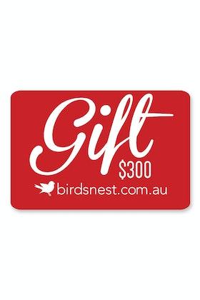 Birdsnest $300 Gift Voucher