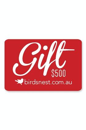 Birdsnest $500 Gift Voucher