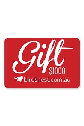 Birdsnest $1,000 Gift Voucher