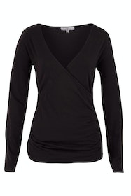 The Wrap Jersey Top