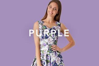 dbe473d5431d Purple Colour - dresses