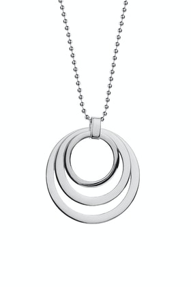 Najo Lost In Thought Long Sterling Silver Necklace