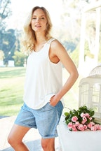 bird keepers The Linen Drawstring Short