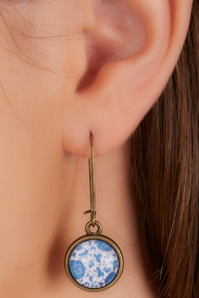 Nest Of Pambula Flower Child Drop Earrings