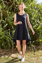 bird keepers The Sleeveless Swing Dress