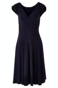 Wrap Cap Sleeve Dress