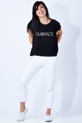 Embrace Embrace Cotton Shell Tee