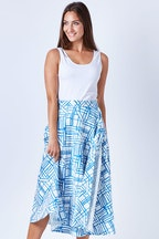 Sacha Drake Kinda Magic Wrap Midi Skirt