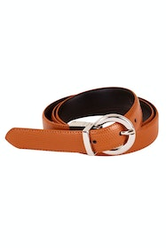 The Bella Genuine Reversible Leather Belt