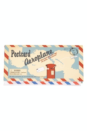 Hand Picked Gifts Postcard Aeroplane