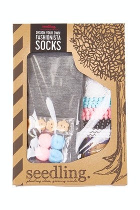 Seedling Make Your Own Fashionista Socks