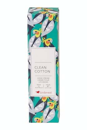 Birdsnest Clean Cotton Scented Hand Cream