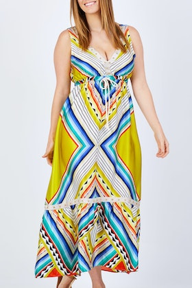 Curate Fun And Maxi Free Dress