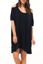 Vigorella Cut Out Shoulder Dress