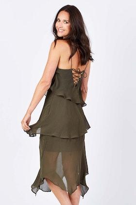 Cooper St Mindfall Midi Dress