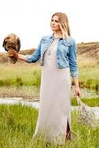 boho bird Chief Of The Clan Drape Dress