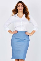 bird keepers The Bengalene Pencil Skirt