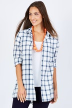bird keepers The Plaid Button Through Shirt