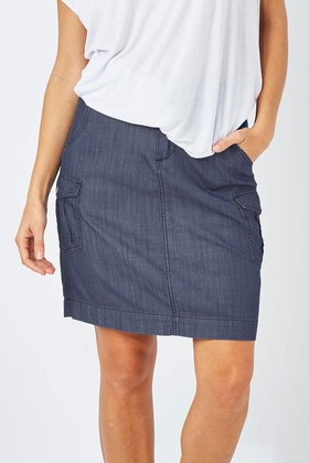 bird keepers The Chambray Skirt