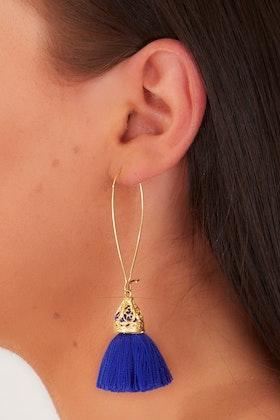 Isle & Tribe Waikiki Tassel Earrings