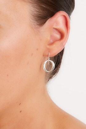 Najo Naj 'O' Sterling Silver Earrings