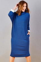 handpicked by birds Cocoon Pocket Knit Dress