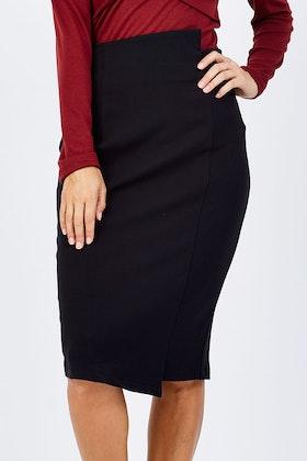 bird by design The Asymmetrical Pencil Skirt