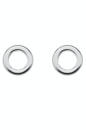 Najo Dot Stud Sterling Silver Earrings