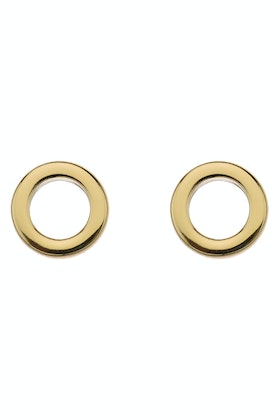 Najo Dot Stud Gold Earrings