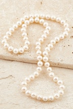 Lush Designs Pearl Silk Strand 60cm Necklace