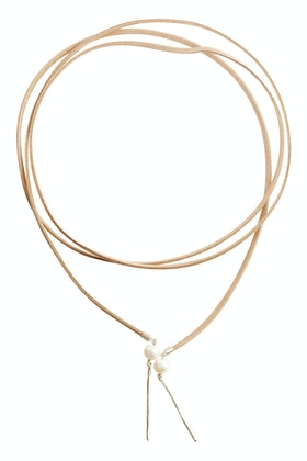Lush Designs Bolo Pearl Necklace
