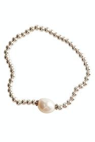 Tayah Keshi Sterling Silver Pearl Bracelet