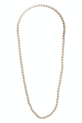 Lush Designs Pearl Silk Strand 90cm Necklace