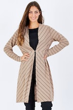 Clarity By Threadz Stripe Cardigan