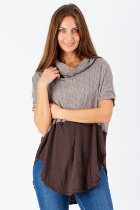 Vigorella Spliced Skivvy Long Top