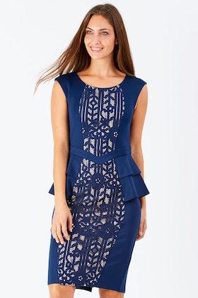 Mei Mei Lace Insert Dress