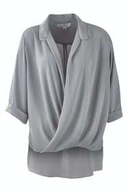 The Cross Over Blouse
